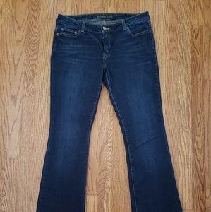 Michael Kors mid-rise bootcut jeans GUC